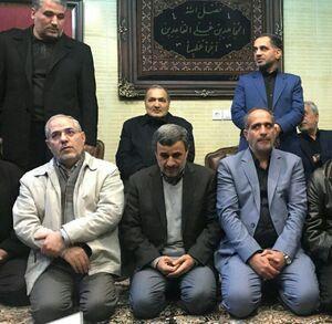 حضور احمدینژاد در منزل قاسمسلیمانی