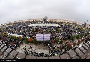 عکس/ گرامیداشت شهید قاسم سلیمانی در میدان امام اصفهان