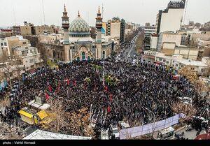 عکس/ اجتماع هیأتهای تهران در میدان فلسطین