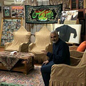 منزل سردار سلیمانی