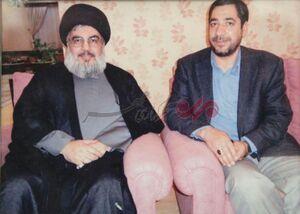 عکس/ شهید پورجعفری در کنار سید حسن نصرالله