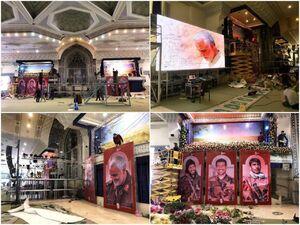 آماده سازی مصلی تهران برای مراسم وداع