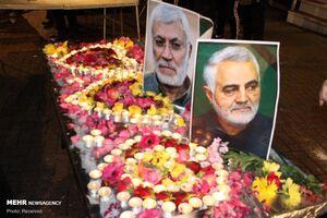 جزئیات مراسم وداع مردم تهران با سردار سلیمانی اعلام شد