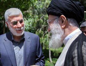 خوش و بش شهید ابومهندس المهدی با رهبرانقلاب