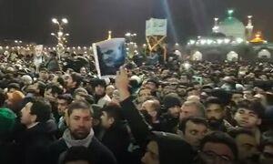 فیلم/ پاکستانیهای دوستدار سردار در مراسم تشییع