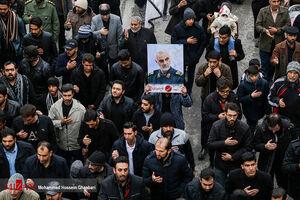 اجتماع عظیم هیاتهای مذهبی کرمان در سوگ سردار سپهبد شهید حاج قاسم سلیمانی