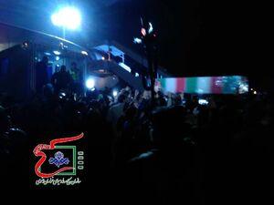 عکس/ ورود پیکر شهدای مقاومت به فرودگاه شهید هاشمی نژاد