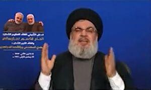فیلم/ کنایه نصرالله به طرح تفرقه ایرانی عراقی