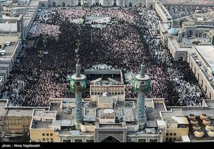 قدردانی از حماسهآفرینی مردم مشهد در بدرقه پیکر شهدای مقاومت