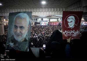 عکس/ اجتماع عظیم عزاداران شهید سپهبد سلیمانی در مصلی