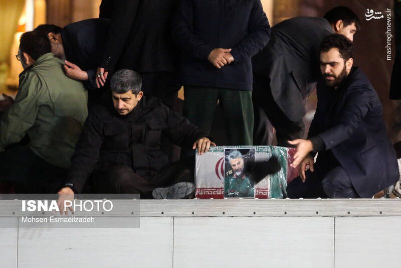 تشییع پیکر سردار قاسم سلیمانی در مشهد