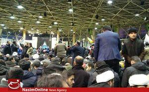 عکس/تکمیل ظرفیت محل اقامه نماز سردار سلیمانی