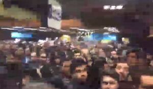 شلوغی گسترده مترو در تهران