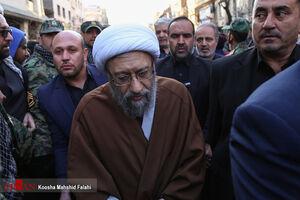 عکس/ آملیلاریجانی در تشییع سردار دلها