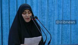 فیلم/ تجلیل دختر سردار سلیمانی از  شهید پورجعفری