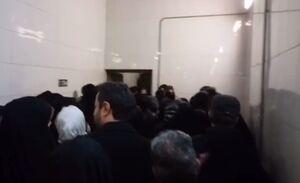 فیلم/ باز شدن راههای خروج اضطراری مترو