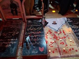 فیلم/ آمادهسازی آرامگاه سردار سلیمانی، یک روز پیش از خاکسپاری