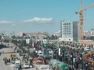 آمادگی مردم قم برای تشیع پیکر مطهر سردار دلها