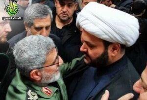 عکس/ دیدار الکعبی با سردار قاآنی