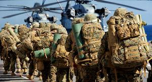 تفنگداران آمریکا نیروی نظامی آمریکا