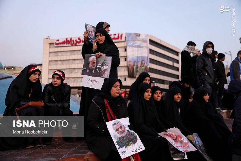 استقبال تهران از شهدای مقاومت