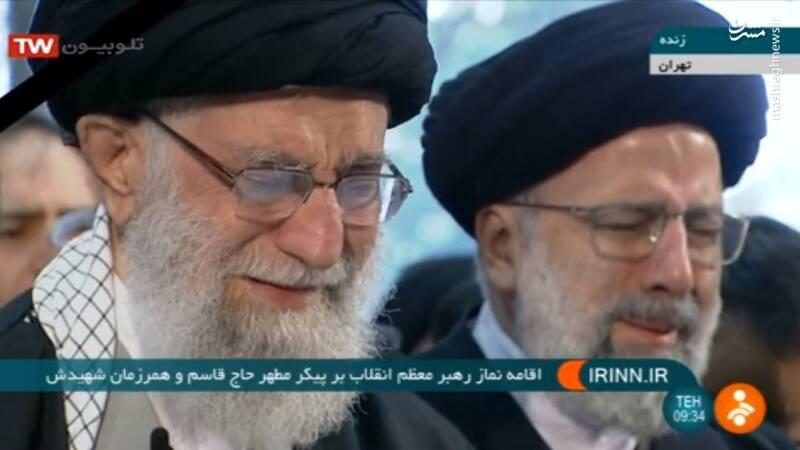 اشکهای رهبرانقلاب در هنگام اقامه نماز