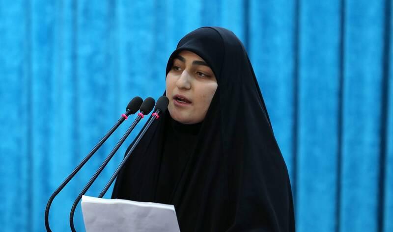 فیلم/ زینب سلیمانی: با رفتن سردار حجازی داغ دلمان تازه شد