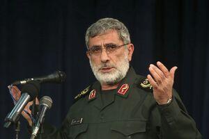 فیلم/ معارفه سردار قاآنی در فرماندهی نیروی قدس