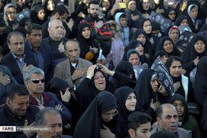 تصاویری از خروش مردم شاهرود در خونخواهی سردار دلها