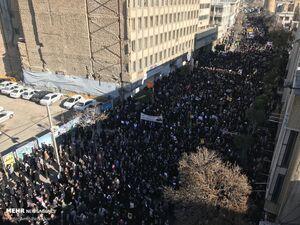 مراسم بزرگداشت سردار سلیمانی در شیراز