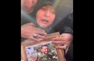 فیلم/ وداع جانسوز دختر شهید طارمی با پدر