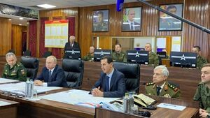 پوتین و بشار اسد