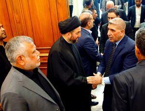 عکس/ گرامیداشت سردار سلیمانی و ابومهدی در دفتر حجتالاسلام حکیم