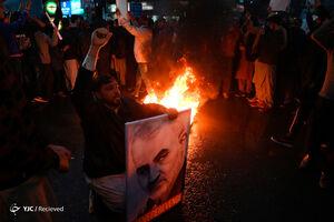 خروش پاکستانیها در محکومیت ترور سردار سلیمانی