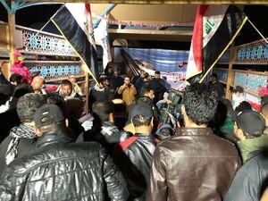 فیلم/ استقبال مردم نجف از پیکر شهید ابومهدی