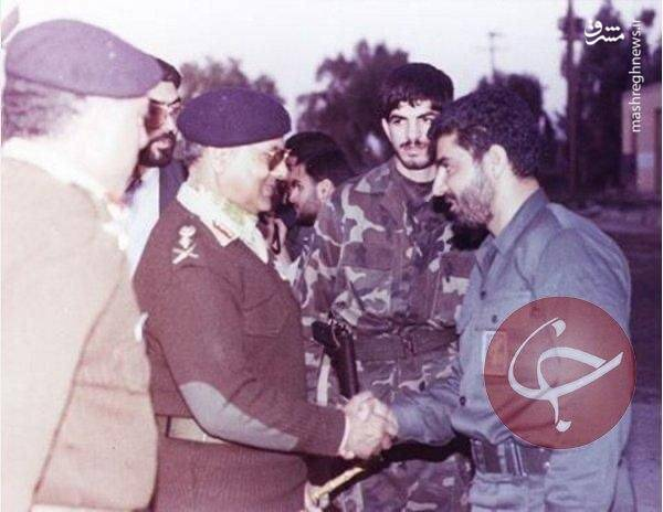 عکس دیده نشده از سردار شهید سلیمانی در پاکستان