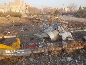 حضور تیمهای تشخیص هویت در محل سقوط هواپیمای مسافربری