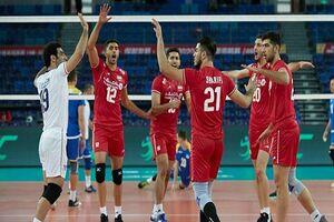 دومین پیروزی ایران در والیبال انتخابی المپیک/پیروزی آسان برابر قزاقستان