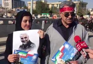 """فیلم/ خوشحالی مردم گیلان از """"سیلی"""" سپاه"""