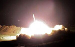 حملات سنگین موشکی سپاه به پایگاه نظامی آمریکا