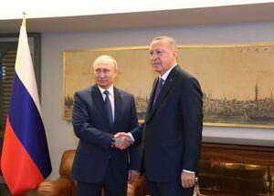 دیدار و گفتگوی پوتین و اردوغان