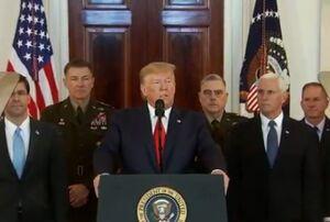 ترامپ نمایه سخنرانی امریکا عینالاسد