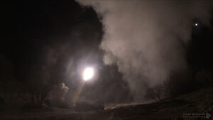 تصاویری از موشکهای ذوالفقار ایرانی که در حمله موشکی به پایگاه عین الاسد اصابت کردند