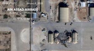 فیلم/ آخرین اطلاعات از میزان صدمات حمله موشکی سپاه به پایگاه عین الاسد