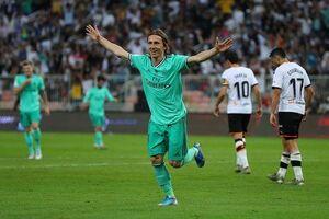 صعود رئال مادرید به فینال سوپرجام اسپانیا