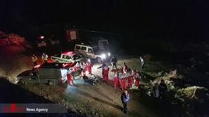 عکس/ سقوط مرگبار اتوبوس در سواد کوه
