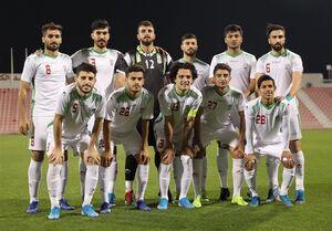 ترکیب تیم فوتبال امید برای دیدار با ازبکستان