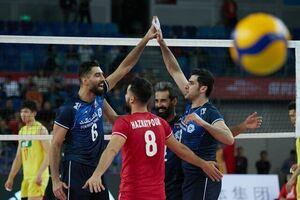پیروزی قاطع تیم ملی والیبال ایران برابر چین/ جدال با کره جنوبی برای صعود به فینال