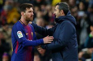 مخالفت مسی و سوارز با اخراج سرمربی بارسلونا