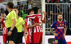 فیلم/ خلاصه دیدار بارسلونا ۲-۳ اتلتیکو